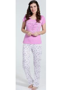 Pijama Feminino Estampa Frontal Marisa