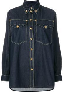 Camisa Algodao Versace feminina  77732143a71