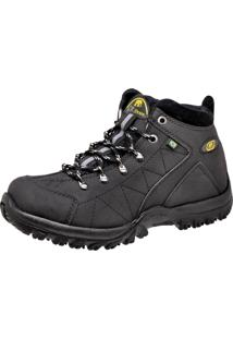 Bota Cr Shoes Adventure Capry Preta