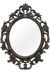 Espelho De Parede Versa 57X82Cm Dourado