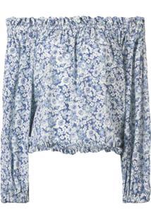 Stella Mccartney Blusa Ombro A Ombro - Azul