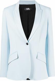 Karl Lagerfeld Jaqueta Summer Punto - Azul