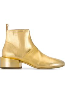 Marsèll Ankle Boot Slip On - Dourado