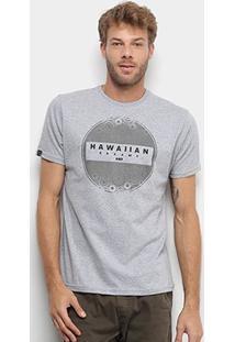 Camiseta Hd Estampa Pointless Masculina - Masculino-Mescla
