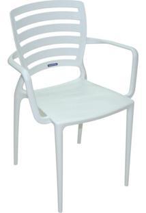 Cadeira Sofia Vazada Hz Branco