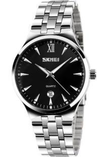 Relógio Skmei Analógico 9071 Preto