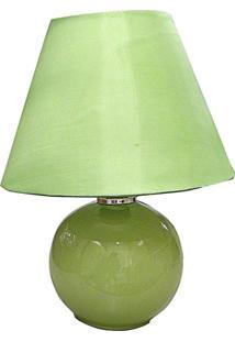 Abajur Esfera Verde P