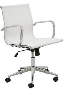 Cadeira Office Sevilha Em Tela Com Ajuste De Altura & Rodízirivatti