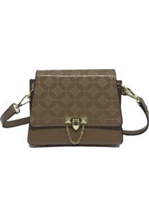 Bolsa Pequena Casual Importada Sys Fashion 8511 Caqui