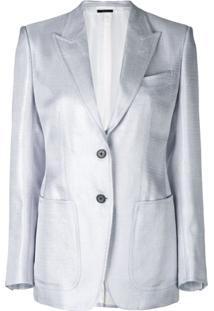 Tom Ford Blazer Slim - Cinza