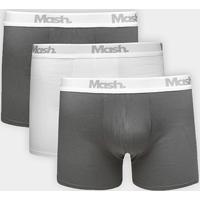 6cded8cea5d Kit Cueca Boxer Mash Cotton 3 Peças - Masculino