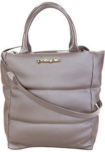 Bolsa Petite Jolie Amelia Bag Feminina - Feminino-Cinza