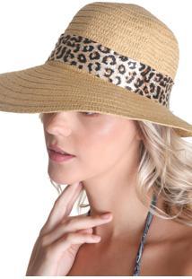 Chapéu Clássico Com Laço - Bege - Líquido