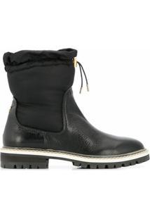 Jimmy Choo Ankle Boot Bao - Preto