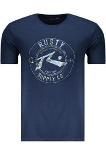 Camiseta Rusty Silk 1985 Masculina - Masculino