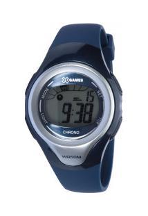 26eae4f3f46 Relógio Digital X Games Xkppd031 - Feminino - Azul Escuro