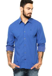 Camisa Forum New Fred Azul