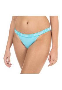 Calcinha String Azul Capricho - 461.021 Capricho Lingerie String Azul