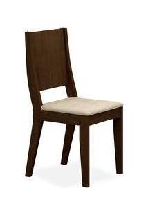 Cadeira Flat Sala De Jantar, Padrao - Castor, Revestimento - Veludo Brilho