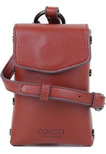 Bolsa Colcci Handbag Argola Feminina - Feminino-Vermelho