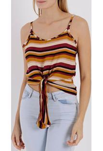 Blusa Regata Feminina Multicolorido