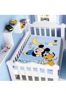 Cobertor Infantil Raschel Mickey Sonhando