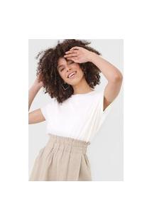 Camiseta Dress To Canelada Off-White