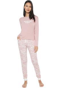 Pijama Any Any Weekend Vibes Rosa