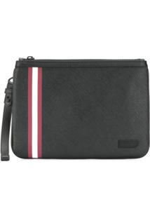 Bally Clutch 'Skid' - Preto