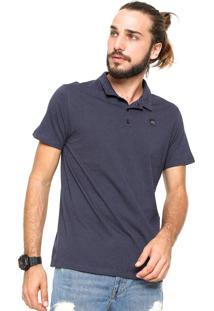 Camisa Polo Oakley Neo Knit Azul