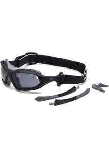 Óculos De Sol Mormaii Floater Kit Fosco Rajado Exter - Masculino-Preto