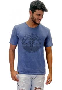 Camiseta Joss Estonada Newport Folk Festival Azul