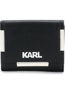 Karl Lagerfeld Carteira K/Athleisue Média - Preto