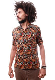 Camisa Andy Roll Clothing Kancho Amarelo