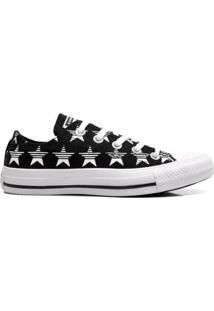 Tênis Converse All Star Feminino - Feminino-Preto+Branco