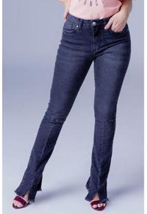 397c7184c ... Calça Jeans Skinny Equivoco Nina Feminina - Feminino-Cinza