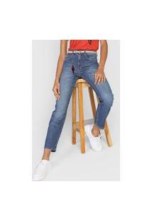 Calça Jeans Cantão Reta Life Azul