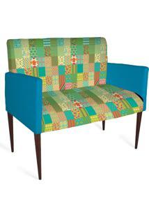 Cadeira Decorativa Mademoiselle Plus 2 Lug Imp Digital 138