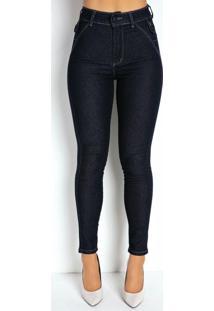 Calça Jeans Escura Cigarrete Super Lipo Sawary