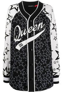 Dolce & Gabbana Blusa Queen Dg - Preto