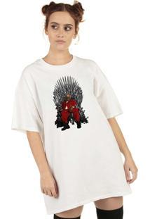 Blusa Skull Clothing King Of Street Branca