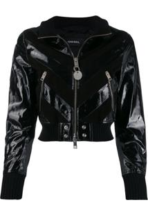 Diesel Leather Jacket - Preto