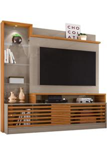 Estante Home Theater Para Tv Até 60 Pol. Frizz Prime Fendi/Naturale -
