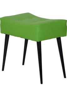 Puff Dani Pé Palito Verde E Preto
