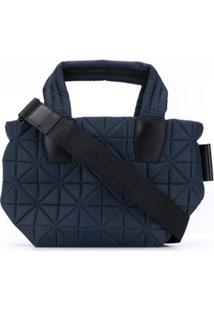 Vee Collective Medium Quilted Tote - Azul