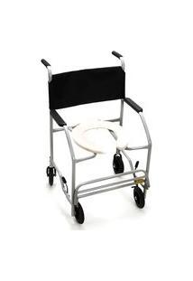 Cadeira Para Banho Semi Obeso Cinza Cds 201