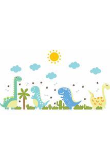 Adesivo De Parede Quarto Menino Dinossauro Baby