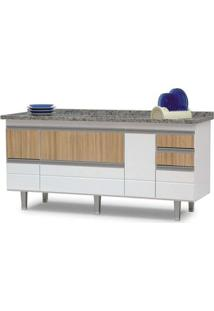 Armário Para Cozinha Fiesta 1,8 Metro Branco Bonatto