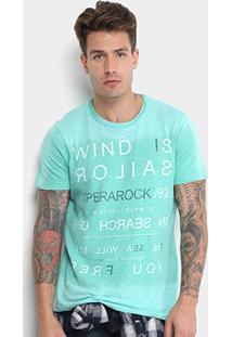 Camiseta Flamê Opera Rock Estampada Masculina - Masculino
