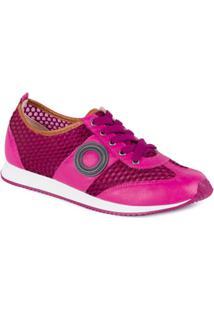 Tênis Moleca Casual Jogging Violeta/Pink/Caramelo - Feminino-Pink